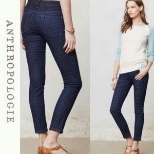 Anthropologie Pilcro serif leggings jeans size 29